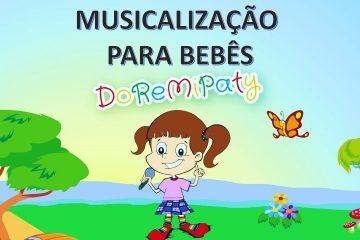 Curso on-line Musicalização para bebês DoReMiPaty